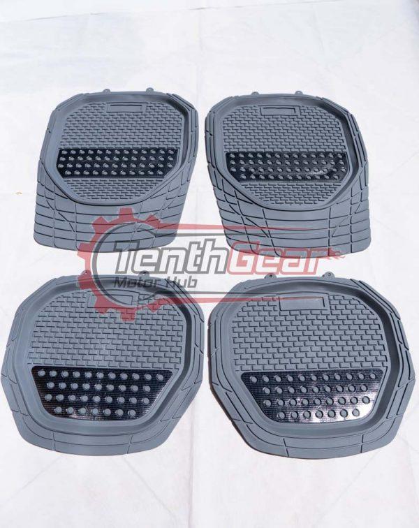 Universal Grey Floor Mats 4 pieces
