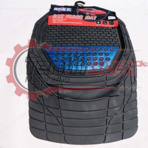 Prestige Black-Blue Universal Floor Mats 5pcs