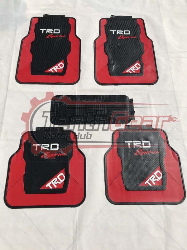 TRD Toyota Floor Mats 5pcs