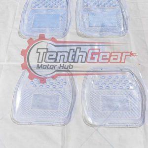 Clear Universal Floor Mats 5pcs